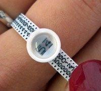 Verstelbare Multisizer voor ringen met omtrekmaten 42-76 mm