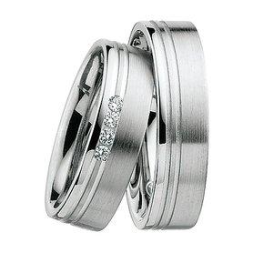 Mooye trouwringen in 8 karaat 333 per paar